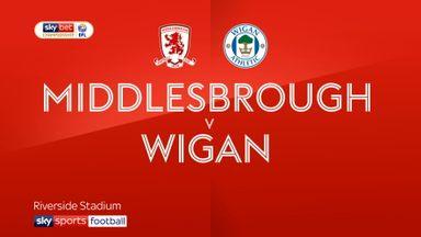 Middlesbrough 2-0 Wigan