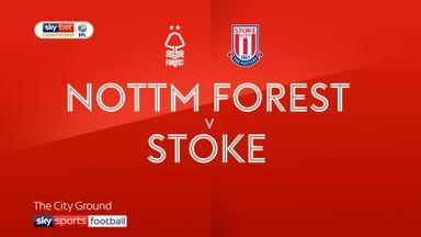Nott'm Forest 0-0 Stoke