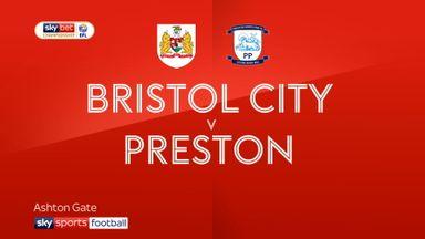 Bristol City 0-1 Preston