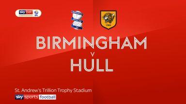 Birmingham 3-3 Hull