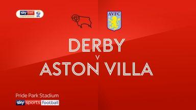 Derby 0-3 Aston Villa
