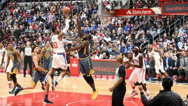 Warriors 116-121 Clippers