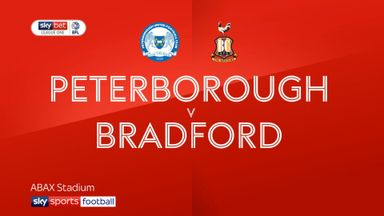 Peterborough 1-1 Bradford