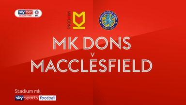MK Dons 2-0 Macclesfield