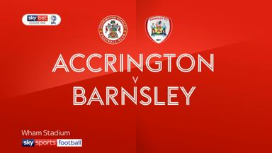 Accrington 0-2 Barnsley
