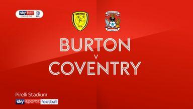 Burton 1-0 Coventry
