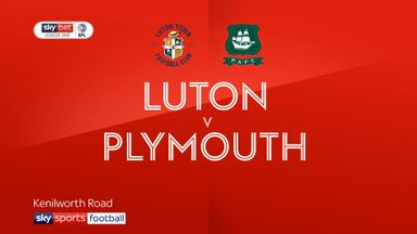 Luton 5-1 Plymouth