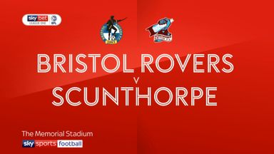 Bristol Rovers 1-2 Scunthorpe