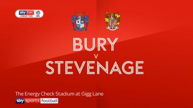 Bury 4-0 Stevenage
