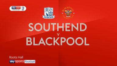 Southend 1-2 Blackpool