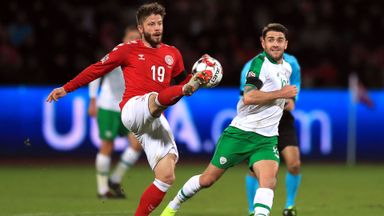 Denmark 0-0 Republic of Ireland