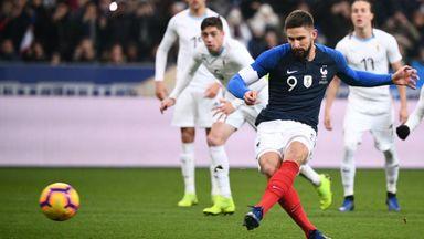 France 1-0 Uruguay