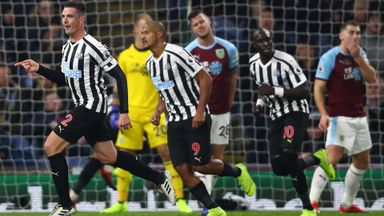 Burnley 1-2 Newcastle