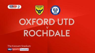 Oxford 4-2 Rochdale