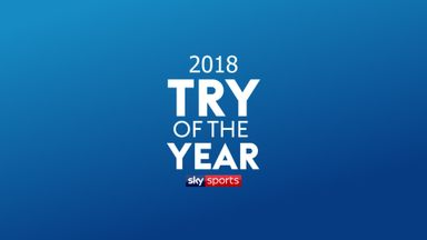 2018 Rugby Union Try of the Year