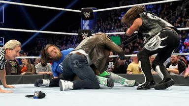 Bryan and Styles brawl over respect