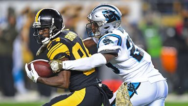 Panthers 21-52 Steelers