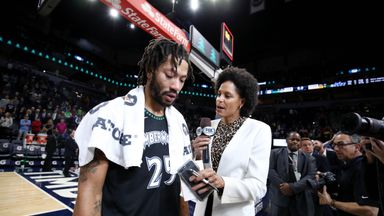 Rose moved to tears on emotional night