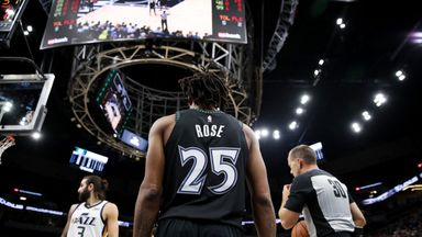 Rose drops career-high 50 on Jazz