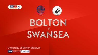 Bolton 0-1 Swansea