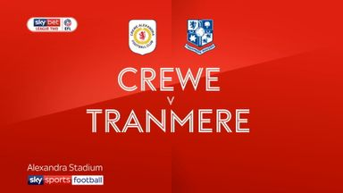 Crewe 3-2 Tranmere