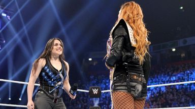 Nikki Cross steps up to challenge Lynch