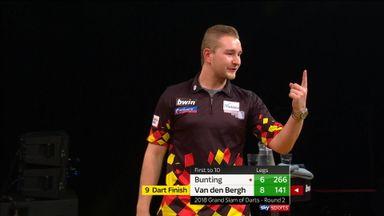 Van den Bergh's stunning nine-darter