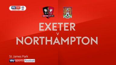 Exeter 2-2 Northampton