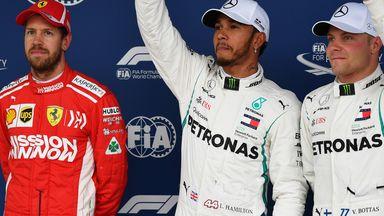 Hamilton's pole lap