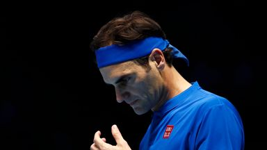 Has Federer got the yips?