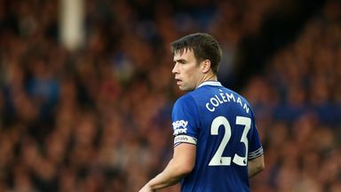 Coleman looking for Everton reaction