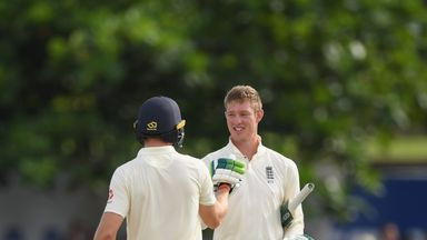 Jennings' 2018 hundred in Sri Lanka