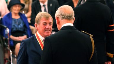 Dalglish 'humbled' by Knighthood