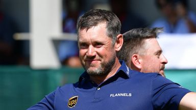 Westwood moved to tears after win
