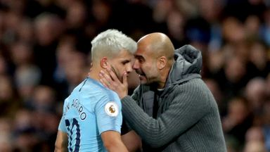 'Aguero working harder under Pep'