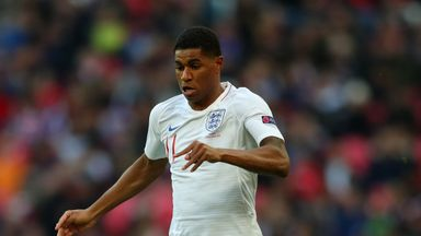 Rashford 'major doubt' for England