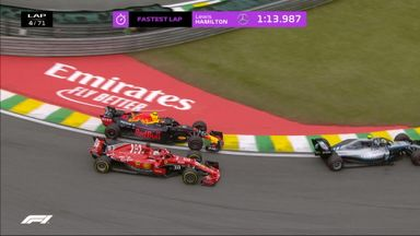 Verstappen's great overtake on Vettel!