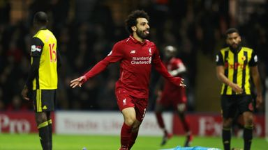 Salah's new striker role