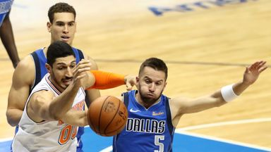 Knicks 118-106 Mavericks