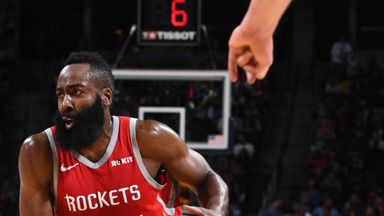 Harden stars in Rockets win
