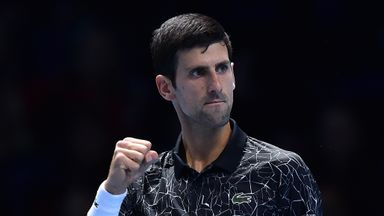 Djokovic v Isner: Highlights