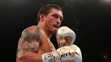 Usyk to wait for AJ