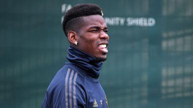 Pogba, Jose show unity at training