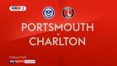 Portsmouth 1-2 Charlton
