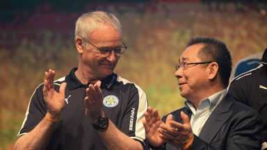 Ranieri pays tribute to Vichai