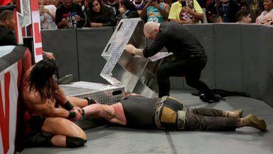Strowman injured during brutal attack