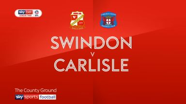 Swindon 0-4 Carlisle