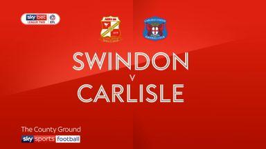 Swindon 0-4 Carlisle