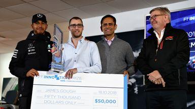 Brit wins F1 Innovation prize