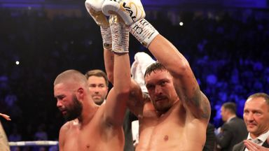 Bellew: Usyk up there with Holyfield